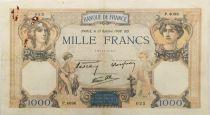 France 1000 Francs Cérès et Mercure - 13-10-1938 Série P.4096 - TTB