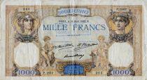 France 1000 Francs Cérès et Mercure - 14-04-1932 Série P.1852 - TB