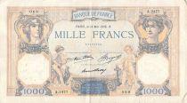 France 1000 Francs Cérès et Mercure - 14-05-1936 Série A.2477 - TTB