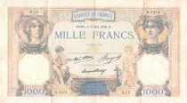 France 1000 Francs Cérès et Mercure - 14-05-1936 Série B.2474 - PTTB