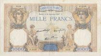 France 1000 Francs Cérès et Mercure - 16/12/1937 Série F3127