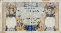 France 1000 Francs Cérès et Mercure - 18-06-1936 Série G.2495 - B+