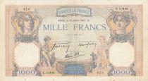 France 1000 Francs Cérès et Mercure - 18-07-1940 Série X.10446 - TB