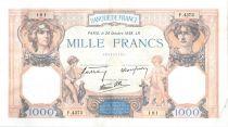 France 1000 Francs Cérès et Mercure - 20-10-1938 Série F.4373-181