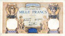 France 1000 Francs Cérès et Mercure - 20/10/1938 Série F.4651 - TTB
