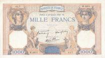 France 1000 Francs Cérès et Mercure - 20-10-1938 Série W.4651 - TTB