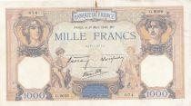 France 1000 Francs Cérès et Mercure - 21-03-1940 Série G.9059 - TTB