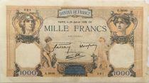 France 1000 Francs Cérès et Mercure - 26-01-1939 Série E.5606 - TB