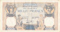 France 1000 Francs Cérès et Mercure - 26-01-1939 Série T.5602 - TB