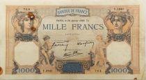 France 1000 Francs Cérès et Mercure - 26-01-1939 Série Y.5941 - TTB