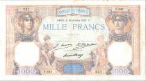 France 1000 Francs Cérès et Mercure - 26-10-1927 F.642