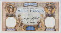 France 1000 Francs Cérès et Mercure - 26-11-1931 Série U.1639 - TTB