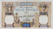 France 1000 Francs Cérès et Mercure - 26-12-1930 Série H.1134 - TTB