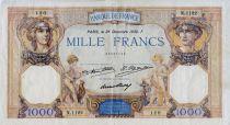 France 1000 Francs Cérès et Mercure - 26-12-1930 Série N.1122 - TTB