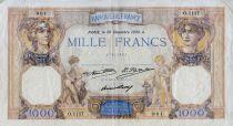 France 1000 Francs Cérès et Mercure - 26-12-1930 Série O.1117 - TTB
