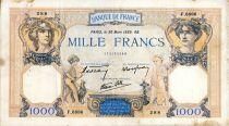 France 1000 Francs Cérès et Mercure - 30/03/1939 Série F.6886 - TTB