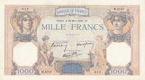 France 1000 Francs Cérès et Mercure - 30-03-1939 Série M.6707 - TTB+