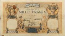 France 1000 Francs Cérès et Mercure - 30-03-1939 Série M.7050 - TB+