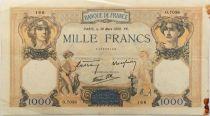 France 1000 Francs Cérès et Mercure - 30-03-1939 Série O.7038 - TTB