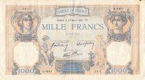 France 1000 Francs Cérès et Mercure - 30-03-1939 Série Q.6951 - TB