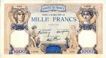 France 1000 Francs Cérès et Mercure - 30/03/1939 Série S.6743 - TTB