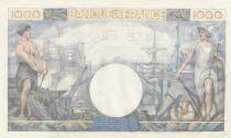 France 1000 Francs Commerce et Industrie - 06-04-1944 Série H.2055 SPL