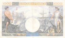 France 1000 Francs Commerce et Industrie - 19-12-1940 Série C.1362 - TTB