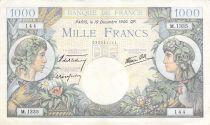 France 1000 Francs Commerce et Industrie - 19-12-1940 Série M.1335 - PTTB