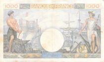 France 1000 Francs Commerce et Industrie - 19-12-1940 Série N.1335 - TTB