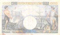 France 1000 Francs Commerce et Industrie - 19-12-1940 Série Y.1297 - TTB