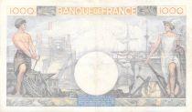 France 1000 Francs Commerce et Industrie - 19-12-1940 Série Z.1390 - TTB