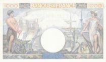 France 1000 Francs Commerce et Industrie - 24-10-1940 Série R.368 - SUP+