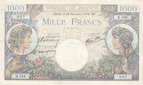 France 1000 Francs Commerce et Industrie - 28-11-1940 Série R.768 - p.TTB