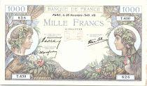 France 1000 Francs Commerce et Industrie - 28-11-1940 Série T.650 - TTB