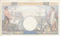 France 1000 Francs Commerce et Industrie - 28-11-1940 Série X.588 - TTB