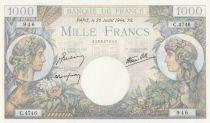 France 1000 Francs Commerce et Industrie - C.4746 - 1944