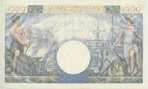 France 1000 Francs Commerce et Industrie -1944