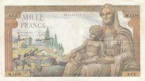 France 1000 Francs Déesse Déméter - 03-09-1942 - Série M.1258