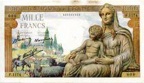 France 1000 Francs Déesse Déméter - 03-09-1942 Série F.1174 - TTB