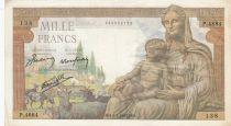 France 1000 Francs Déesse Déméter - 08-04-1943 Série P.4884 - TTB