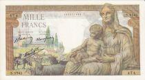 France 1000 Francs Déesse Déméter - 20-05-1943 Série S.5541
