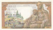 France 1000 Francs Déesse Déméter - 20-06-1942 Série F.849 - P.NEUF