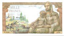 France 1000 Francs Déesse Demeter - 20-08-1942 Série C.1106