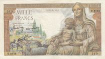 France 1000 Francs Déesse Déméter - 25-06-1943 - Série E.6635
