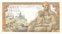 France 1000 Francs Déesse Déméter - 28-01-1943 Série P.3619 - P.NEUF