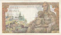 France 1000 Francs Déesse Déméter - 29-04-1943 - Série B.5112