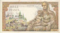 France 1000 Francs Demeter -  18/11/1943 Serial P. 9994