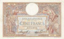 France 1000 Francs Demeter - 02-12-1937 - Serial H.56042
