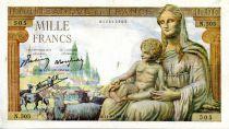 France 1000 Francs Demeter - 11-06-1942 Serial N.505 - VF