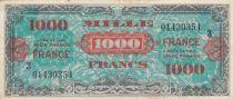 France 1000 Francs Impr. américaine (France) - 1945 - Série 3